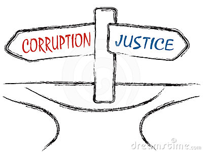 Corruption and Justice