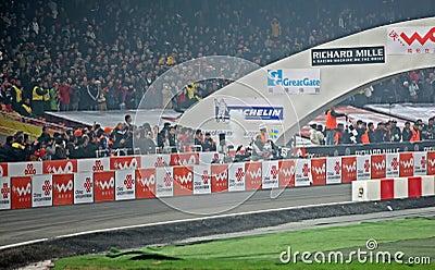 Corsa dei campioni 2009 - finale Fotografia Editoriale