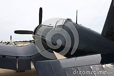 Corsair WWII plane