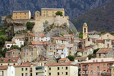 Corsica Corte village