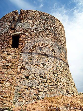 Corsica gammalt torn
