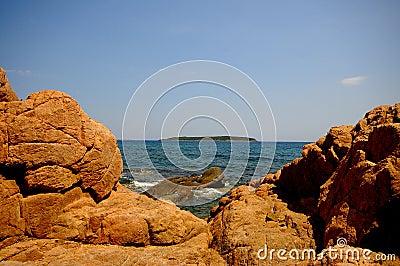 Corsica landscape (france)