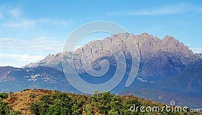 Corsica, peaks of Popolasca mountains