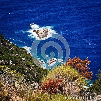 Corsica west coast near Porto