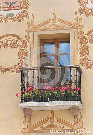 Cortina window - Dolomites - Italy