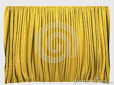 Cortinas amarillas foto de archivo imagen 17547630 for Cortinas amarillas