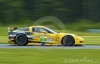 Corvette race car Editorial Stock Photo