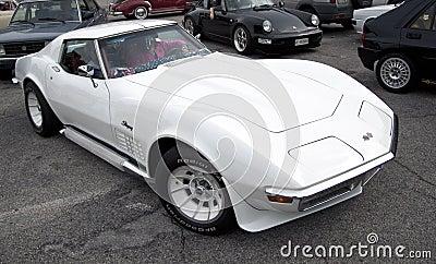 Corvette stingray Editorial Stock Image