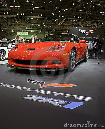 Corvette ZR1 Editorial Stock Photo