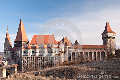 The Corvin Castle of Hunedoara, Romania