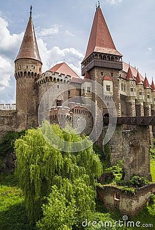 Free Corvin Castle In Hunedoara, Romania Royalty Free Stock Image - 56860926