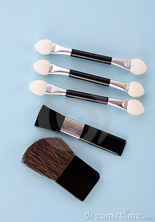 Cosmetic Brushes Stock Photography - Image: 12791492