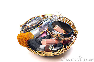 Cosmetic and brushes