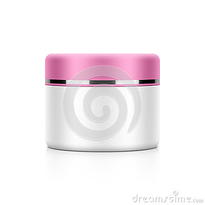 Free Cosmetic Packaging, Cream, Powder Or Gel Royalty Free Stock Images - 44185259