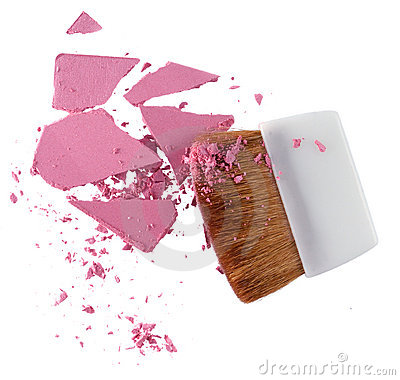 Cosmetic Powder and brush