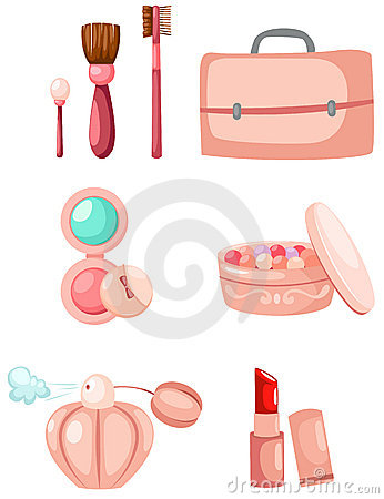 Free Cosmetic Set Royalty Free Stock Photo - 16448665