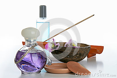 Cosmetics, bottle of perfume