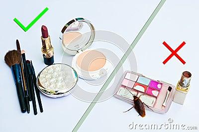 Cosmetics expired