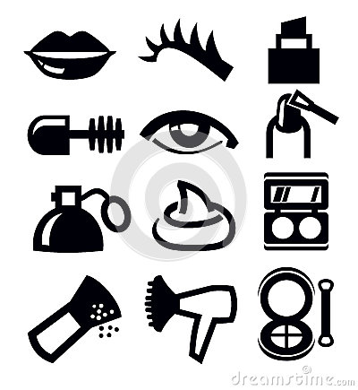 cosmetics and makeup icon