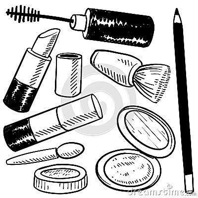 Cosmetics sketch