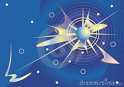 Cosmic  background  vector.