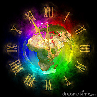 Cosmic clock - optimistic future on Earth - Europe