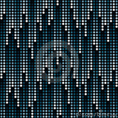 Free Cosmic Rain Of Halftone Dots Royalty Free Stock Photography - 16214147
