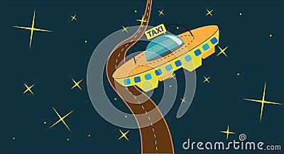 Cosmic taxi