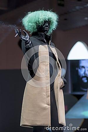COSMOBELLEZA 2014, XAVI GARCIA SHOW Editorial Image