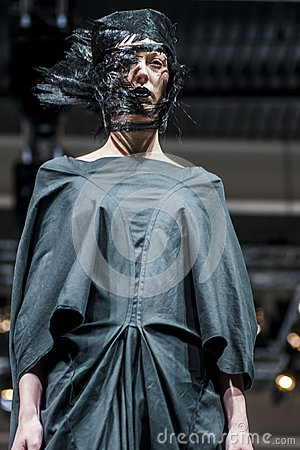 COSMOBELLEZA 2014, XAVI GARCIA SHOW, MODEL Editorial Photography