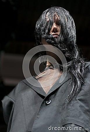 COSMOBELLEZA 2014, XAVI GARCIA SHOW, MODEL Editorial Stock Photo