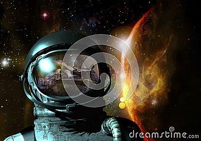 Cosmonaut visions