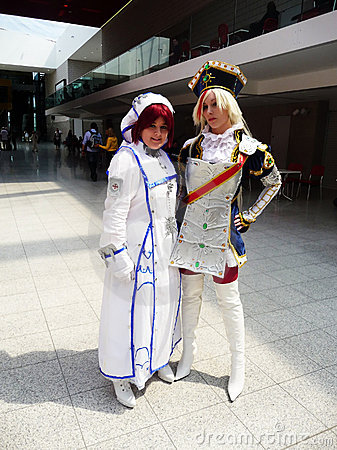 Cosplay Event At Londons Excel Center Editorial Stock Photo