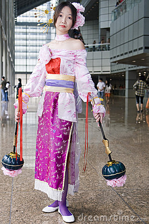 Cosplay for the Games Convention Asia Editorial Photo