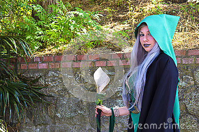 Cosplayer Editorial Image