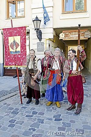 Cossacks Editorial Photo