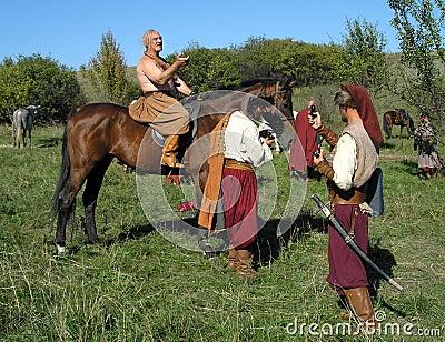 The Cossacks Editorial Image
