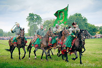 Cossacks - Armoured companions Editorial Stock Photo
