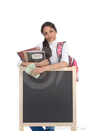 Free Cost Of Education Student Loan And Financial Aid Stock Photography - 12340242