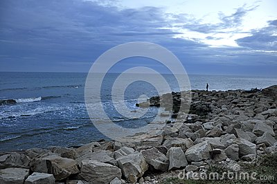 Cost with rock pier.