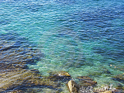Costa Brava clear blue waters