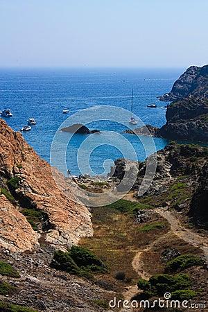 Costa Brava, Mediterranean. Spain