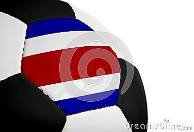 Costa Rican Flag - Football