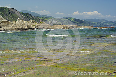 Costa Vasca near Zumaia