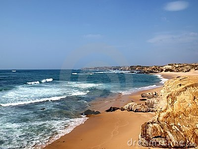Costa Vicentina beach in Alentejo