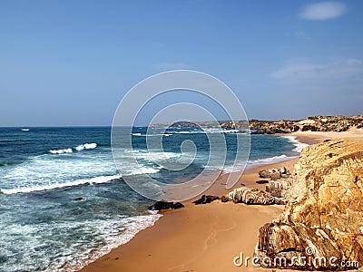 Costa Vicentina beach in Alentejo