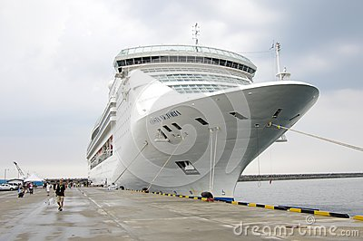 Costa Victoria Cruise Editorial Stock Photo