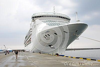 Costa Victoria Cruise Editorial Stock Photo