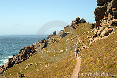 Costal path - Land s End Cornwall
