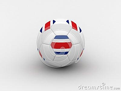 Costarica soccer ball